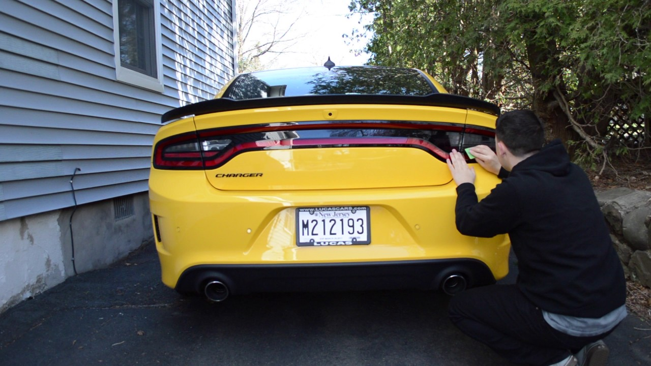 Dodge Charger Tail Lights >> Dodge Charger Luxe Auto Tail Light Tint Install 2017 - YouTube