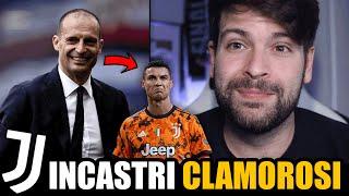 ALLEGRI BIS | Il ritorno alla Juventus (senza CR7) spiegherebbe tutto! Agnelli v