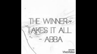 ABBA 'the winner takes it all' official music video