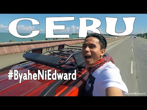 "Queen City of the South ""CEBU"" - #ByaheNiEdward vlog 005"