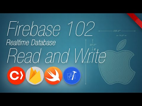 Firebase 102 | Realtime Database Read and Write | using Swift and XCode