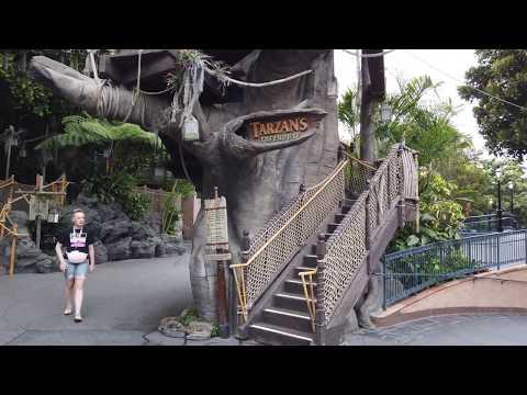 Tim Conway Jr - Tarzan's Treehouse Reopens At Disneyland After Dad Breaks Bridge