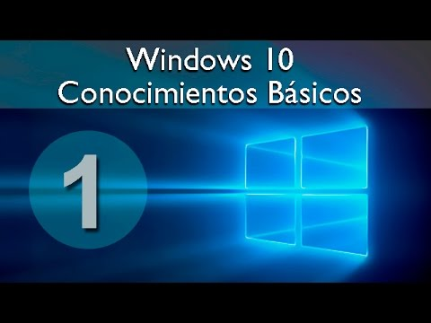 windows 10 tutorial conocimientos b sicos youtube. Black Bedroom Furniture Sets. Home Design Ideas