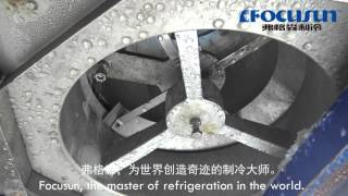Focusun 2 tons daily capacity flake  Ice machine ice making process