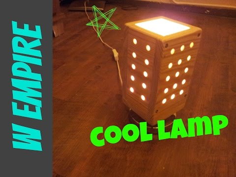 How To Make A Simple Wooden Night Lamp