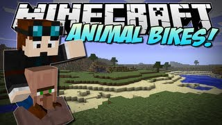 Minecraft | ANIMAL BIKES! (Ride every single mob!) | Mod Showcase [1.5.2]