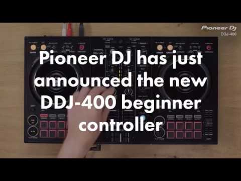 Pioneer Launches DDJ-400 Beginner DJ Controller