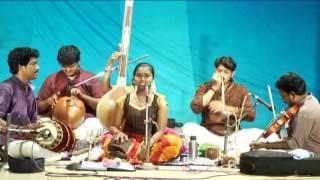 SANDHRA NEBU DEBUT PERFORMANCE IN CARNATIC MUSIC -SWAGATM KRISHNA