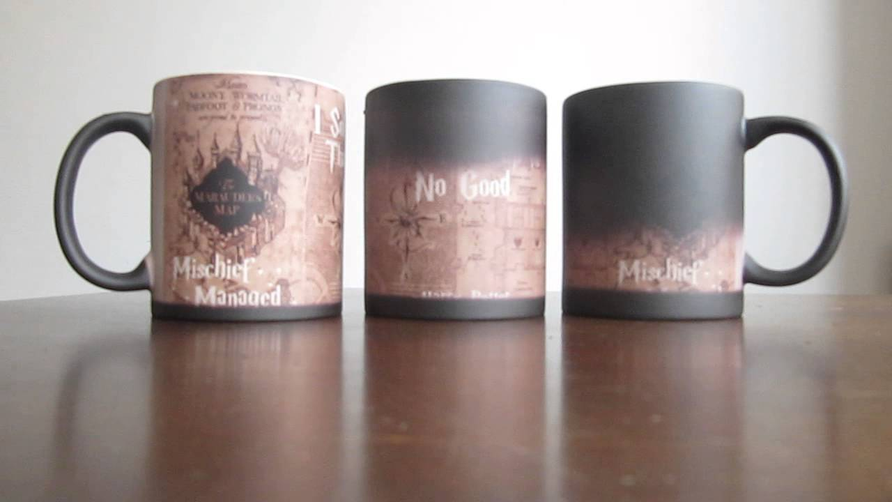 harry potter map mug
