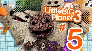 LittleBigPlanet 3 - Part 5 - Meet OddSock [PS4]