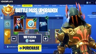 *UPDATED* How To Get MAX Tiers (Tier 100) For FREE In Fortnite! (New Method)