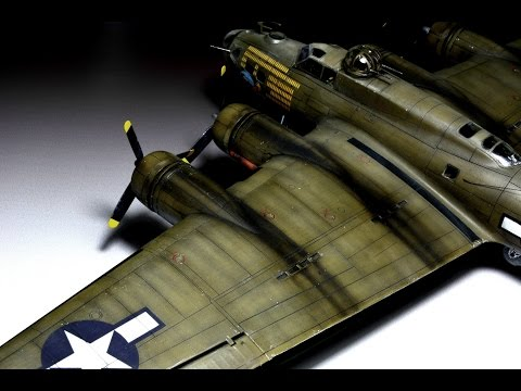 Boeing B-17G flying fortress Revell 1:72 Step by Step - Part 2