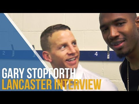 Gary Stopforth Post-Match Interview - Lancaster City