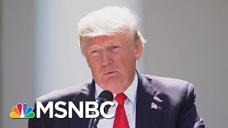 See The Climate Report That Shreds Donald Trump's Science Denials | The Beat With Ari Melber | MSNBC