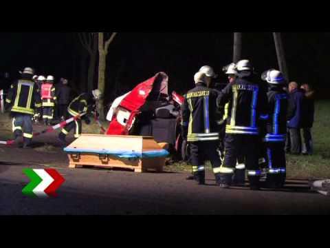 Drei junge Menschen sterben bei Unfall in Coesfeld