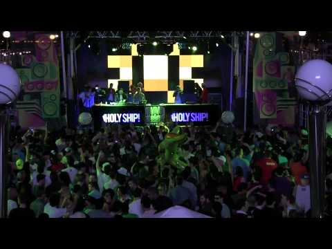 DIPLO - AOKI - LAIDBACK LUKE - ALLL ABOARD! @ HOLY SHIP! 2012 - DAY 1