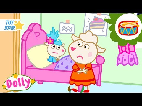 Dolly and friends New Cartoon For Kids  Polly cant sleep  Season 2 Episode #182 Full HD