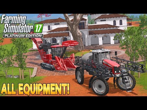 Platinum Edition: All Equipment! - Farming Simulator 17 - Simul8 Gaming