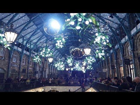Covent Garden Christmas Lights 2018 London