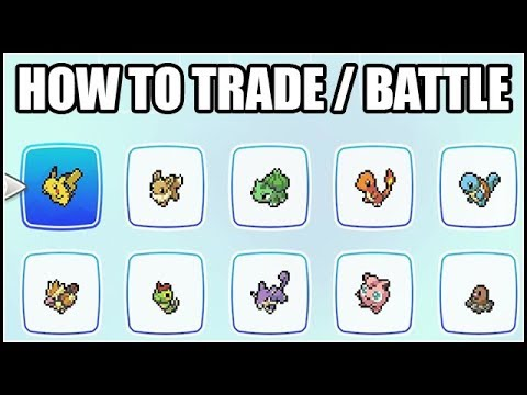 HOW TO BATTLE AND TRADE (ONLINE & OFFLINE) - Pokemon Let's Go Eevee and Pikachu