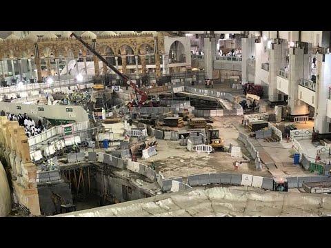 New ZamZam well opening found?!| Makkah Umbrella Project 2018 Update | RJ TV