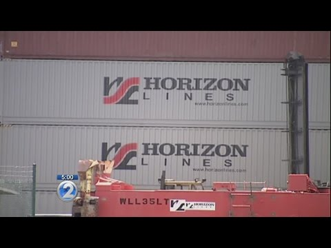 Horizon Lines to sell off Hawaii operation, merge with Matson