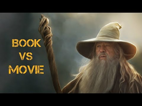 LOTR Book Vs Movie - Gandalf Changes