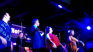 Manhattan Transfer featuring Janis Siegal on vocals at the Blue Not...