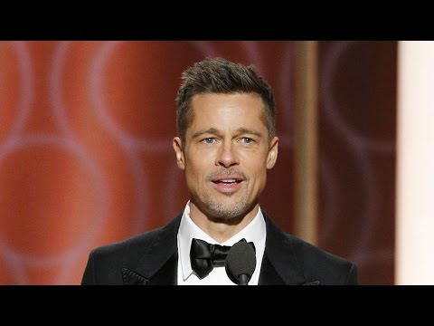 Thumbnail: Brad Pitt Makes Surprise Appearance at Golden Globes Gets Standing Ovation