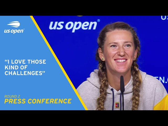 Victoria Azarenka Press Conference   2021 US Open Round 2