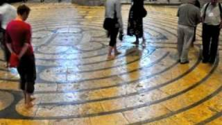 Labyrinth at Chartres Cathedral, a Spiritual Pilgrimage