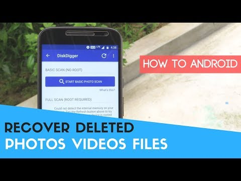 How To Recover Deleted Photos, Videos, And Files On All Android Devices