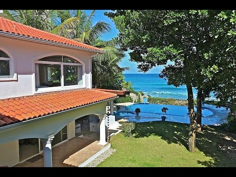 Luxury Beachfront Home for sale in Dominican Republic
