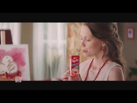 """Молочный коктейль """"Чудо Ягодное мороженое""""- рекламный ролик"""