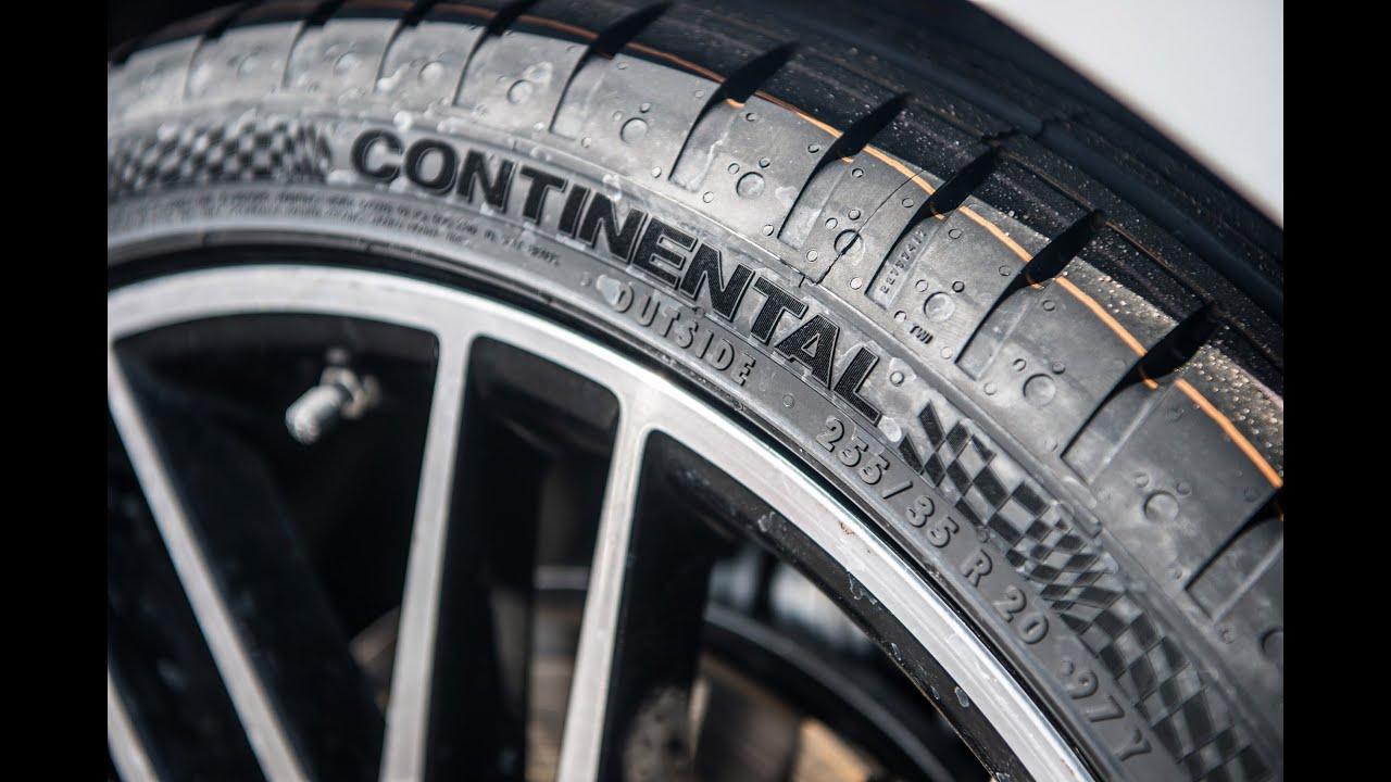 Firestone Firehawk As Review >> Безопасность шин Continental SportContact 6 - YouTube