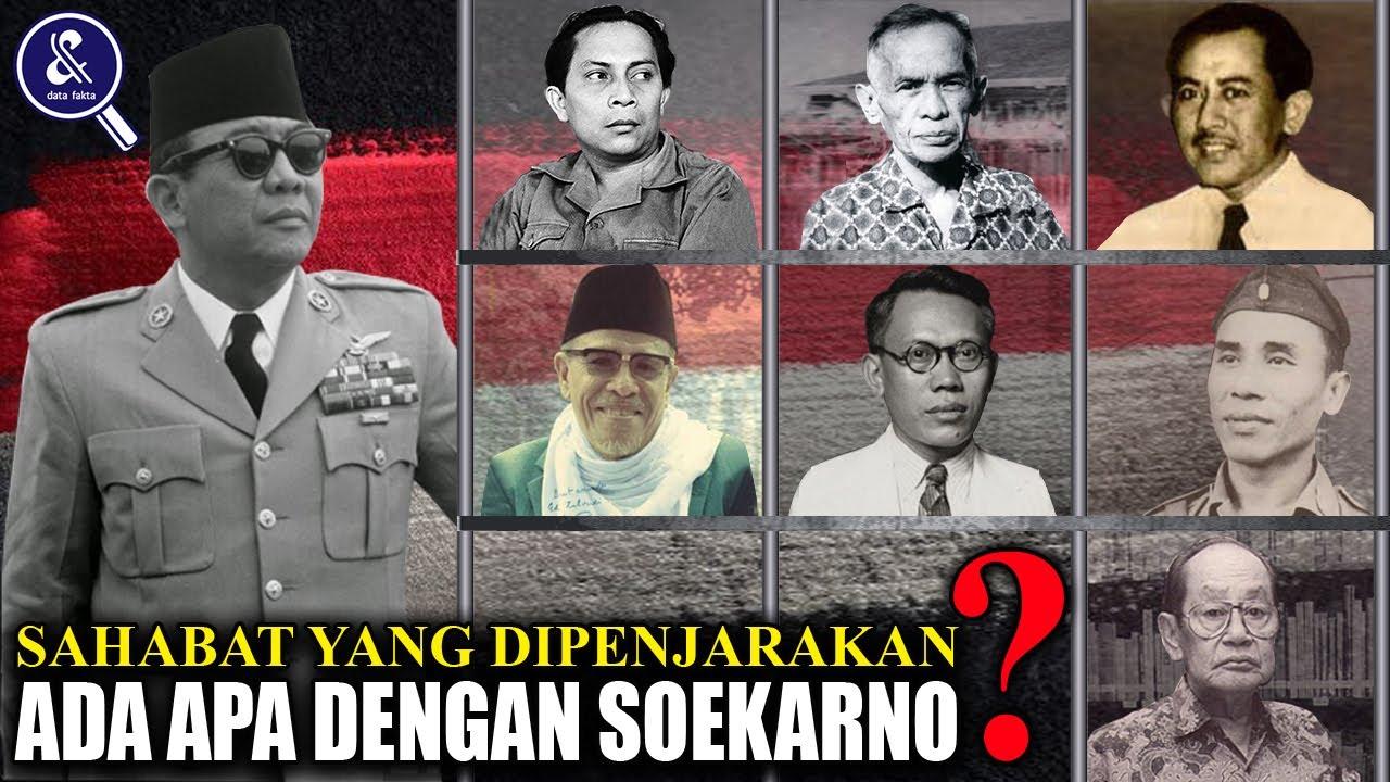 POLITIK! Dari Pahlawan Kemerdekaan sampai Ulama! Inilah 7 Sahabat Soekarno yang Beliau Penjarakan