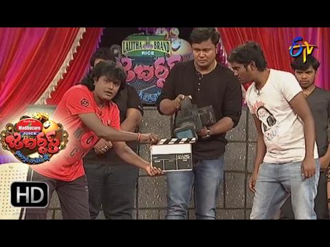 Bullet Bhaskar Sunami Sudhakar Performance | Jabardsth | 9th February 2017| ETV  Telugu