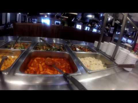 Eating At Korean BBQ Buffet Seoul Grill!
