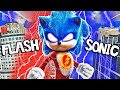 SONIC And FLASH Become ONE In GTA 5 Super Speed