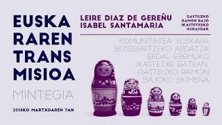 Leire Diaz de Gereñu eta Isabel Santamaría