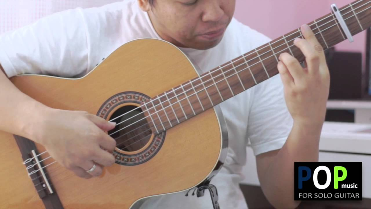 Good Day Sunshine Guitar : Good day sunshine the beatles solo guitar cover youtube