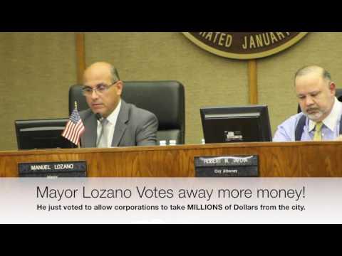 Mayor Manuel Lozano