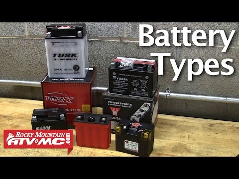 Motorcycle & ATV Battery Types - Choosing The Right Battery