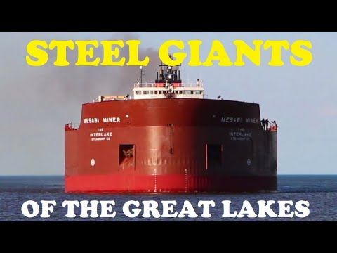 40 Ships in Action: Steel Giants of the Great Lakes