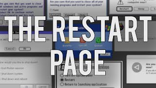 The Restart Page - Reboot Operating Systems in your Web Browser!