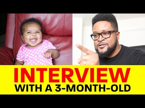 Interview With A 3-Month-Old