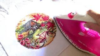 видео Как стирать, сушить и гладить вышивку крестом