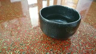NO.140 佐々木松楽作の黒楽茶碗ってこんなの