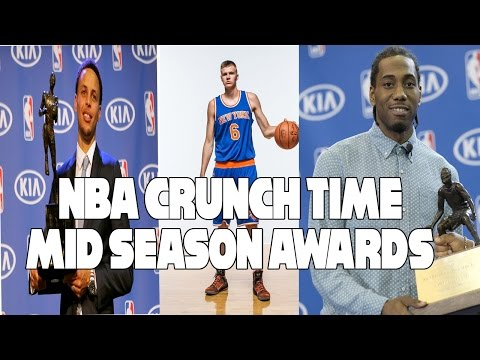 NBA Crunch Time | MID SEASON AWARDS (MVP, Most Improved, Rookie Of the Year, etc.)