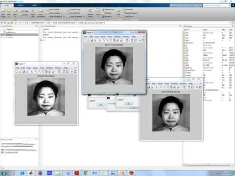 face emotion detection Using Matlab code|ieee 2016 Matlab Image Processing projects at Bangalore